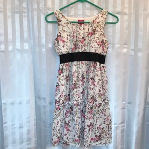 Pinky Girls size 14 sleeveless dress sheer w/liner
